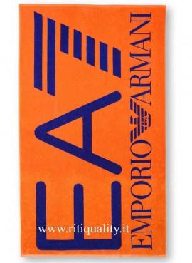 Telo Mare EA7 Emporio Armani logo centrale 904007 7P790