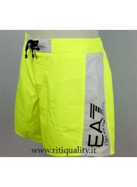 EA7 Emporio Armani Costume Uomo Boxer giallo fluo 902001 7P728