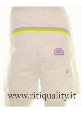 Costume da Bagno Uomo Sundek M502BDTA100 bianco