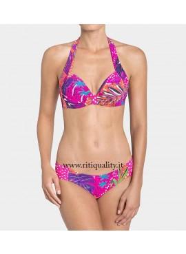 Bikini donna Triumph triangolo imbottito Painted Tulum MWP